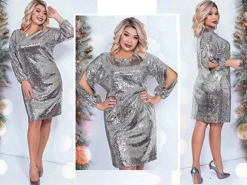 Блестящее платье Арт.625