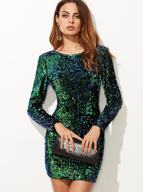 Мерцающее платье Арт.604