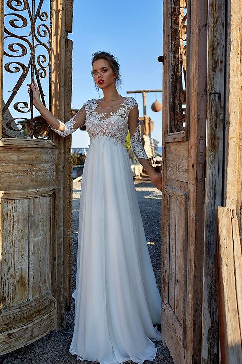 Свадебное платье  для беременных Арт.052