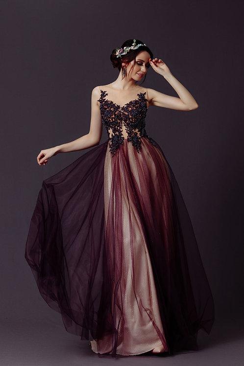 Вечернее платье из premium класса Арт. 1021