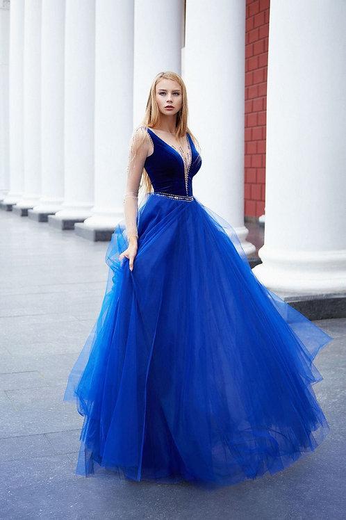 Пышное вечернее платье из premium класса Арт. 1004