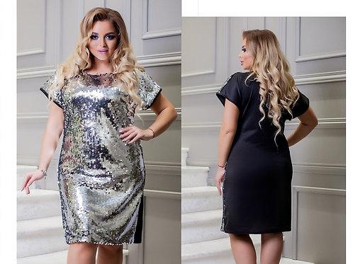 Блестящее платье Арт.643