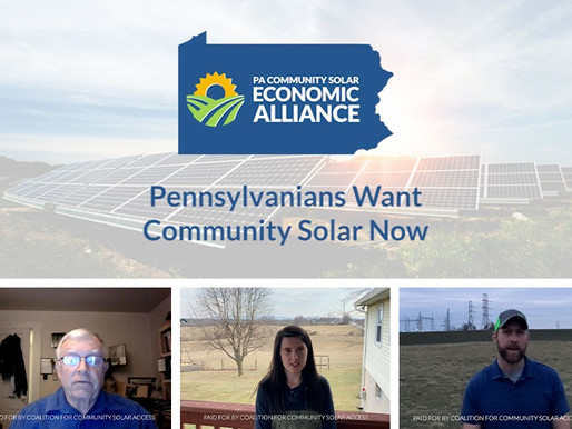 Multiple Generations of PA Farming Families Call Upon Lawmakers to Pass Community Solar Legislation