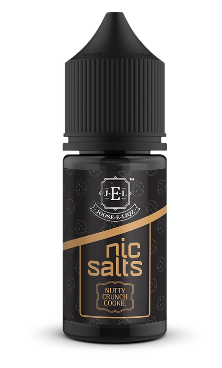 JEL Nutty Crunch Cookie Nic Salts 30ml 20mg