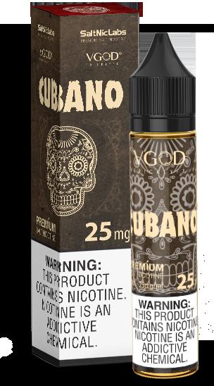 VGOD Cubano Nic Salts 30ml 25/50mg