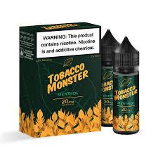 Tobacco Monster Menthol Salt nic 30ml 20mg