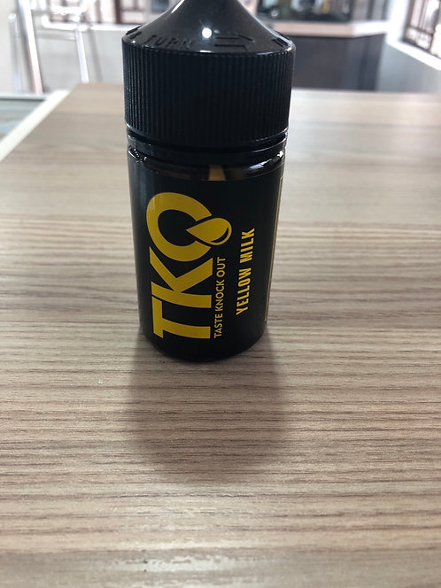 TKO Double Thick Yellow Milk 75ml 3mg