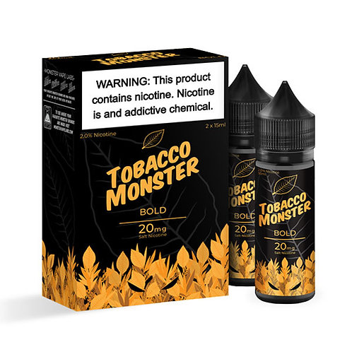 Tobacco Monster Bold Salt nic 30ml 20mg