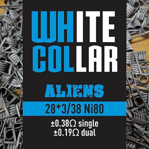 White Collar Aliens 28*3/38 NI80