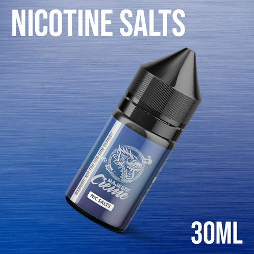 Majestic Vapor Creme Nic Salts 30ml 25mg