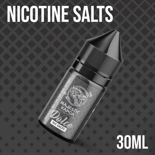 Majestic Vapor Dolce Nic Salts 30ml 25mg