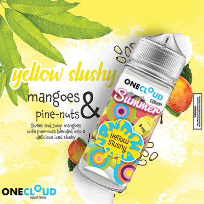 One Cloud Yellow Slushy 120ml 2mg