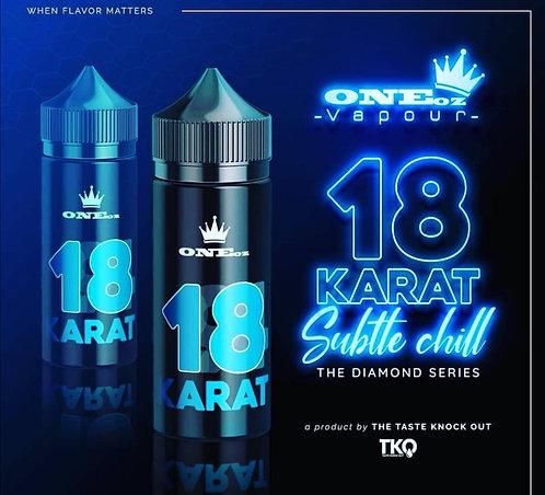 TKO 18 Karat Diamond Edition 100ml 3mg