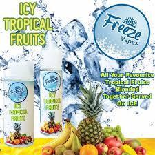 Freeze Vapes Icy Tropical Fruits 120ml 3mg