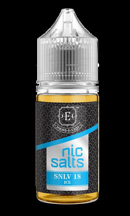 JEL SNLV 18 Ice Nic Salts 30ml 20mg