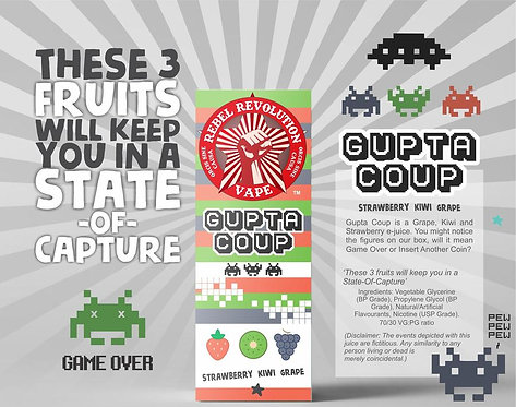 Rebel Revolution Gupta Coup 120ml 3mg