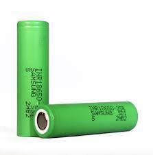 Samsung 25R Batteries per battery