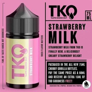 TKO Strawberry Milk 75ml