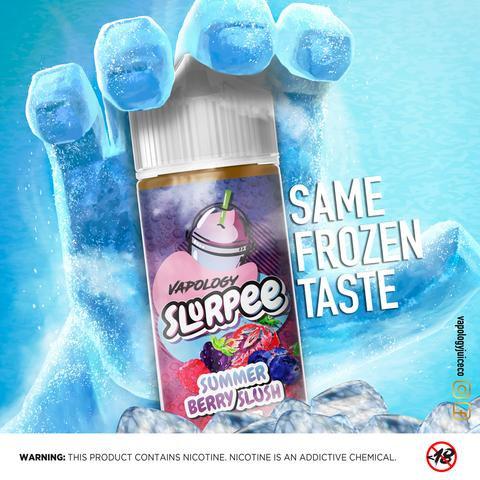 Vapology Summer Berry Slurpee 120ml