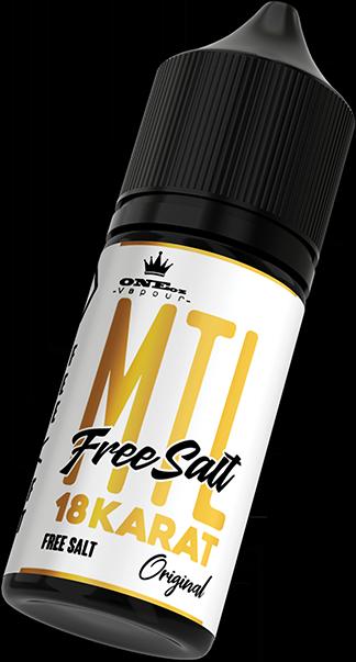 TKO Free Salts 18 Karat 30ml 24mg