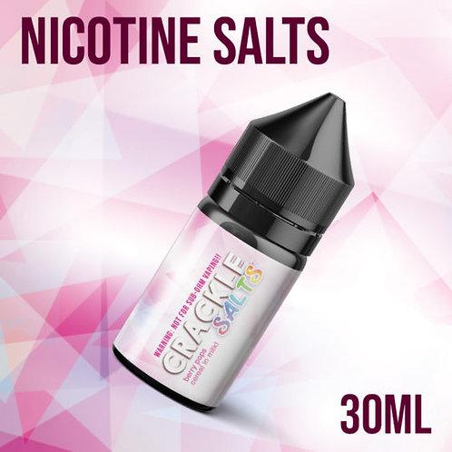 Majestic Vapor Crackle Nic Salts 30ml 25mg