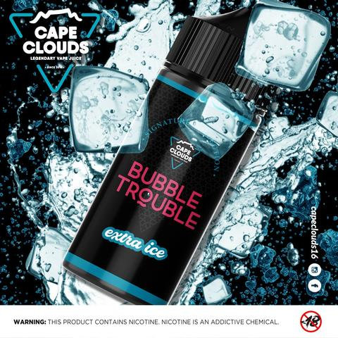 Cape Clouds Bubble Touble Xtra Ice120ml 3mg