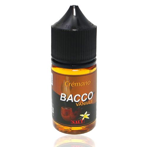 Tickets Bacco Vanilla Salt Nic 30mg-30ml