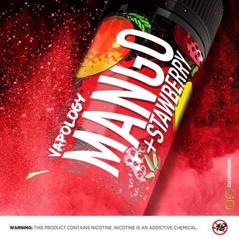 Vapology Mango Strawberry 120ml