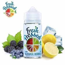 Fresh Pressed Blissful Berries 100ml 3mg