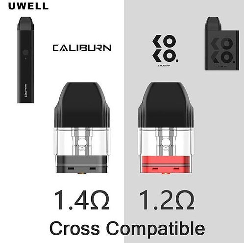 Uwell Caliburn/Koko Replacement Pods price per pod