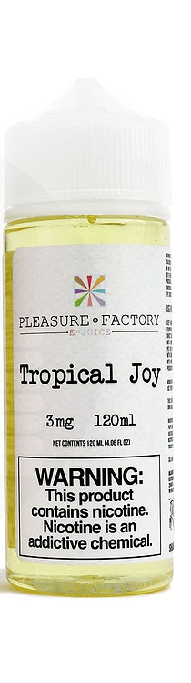 Pleasure Factory Tropical Joy 120ml 3mg