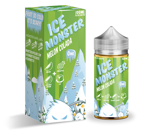 Jam Monster Ice Monster Melon Colada 100ml