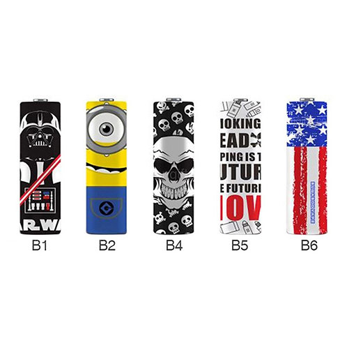 Battery Wraps 20700/21700 Assorted