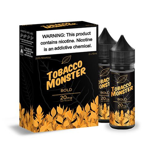 Jam Monster Tobacco Monster Bold 30mlx2 3mg