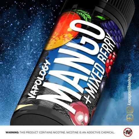 Vapology Mango Mixed Berry 120ml