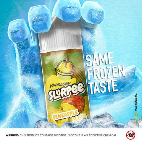Vapology Pineapple Slurpee 120ml