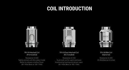 Smok TFV18 Coils per coil