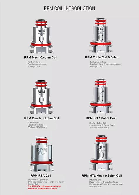 Smok RPM40 Coils Assorted per coil