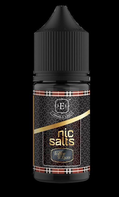 JEL Toffee de Lux Nic Salts 30ml 20mg