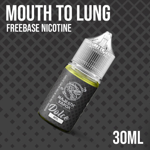 Majestic Vapor Dolce MTL 30ml 12mg