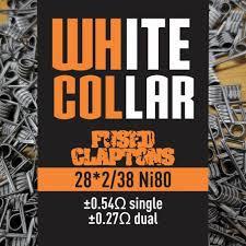 White Collar Fused Clapton 28*2/38