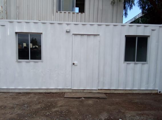 Modulo Oficina 20 pies exterior