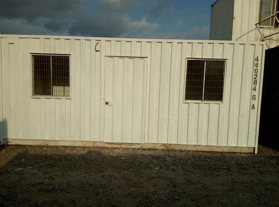 Modulo Oficina 20 pies exterior con protección