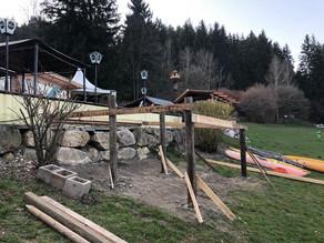 Umbau am Trabochersee gestartet