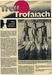 1983 ärmelkanalregatta ankündigung treff