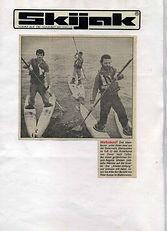 1983 ärmelkanal presse krone titelseite.