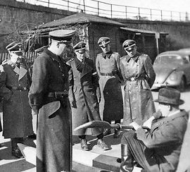 1943 sumpfwasserski wehrmacht - schirach
