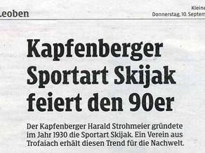 Skijak in der Presse