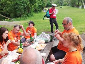 """""""Mur-Picknick"""" … wie es früher einmal war"""
