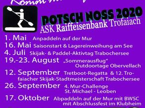 Jahresauftakt und Planungsmeeting im Klubheim